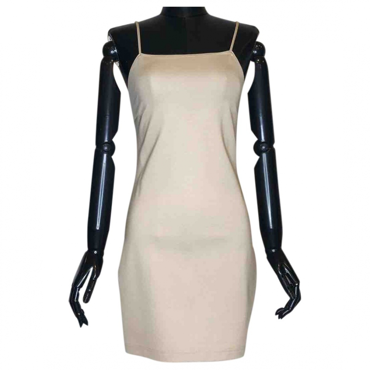 David Koma \N Beige dress for Women 8 US