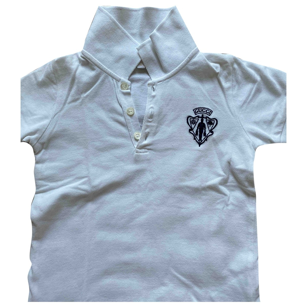 Gucci \N White Cotton  top for Kids 4 years - up to 102cm FR