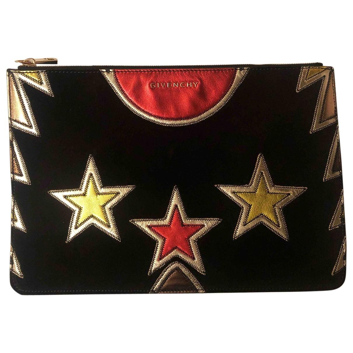 Bolsos clutch en Ante Negro Givenchy