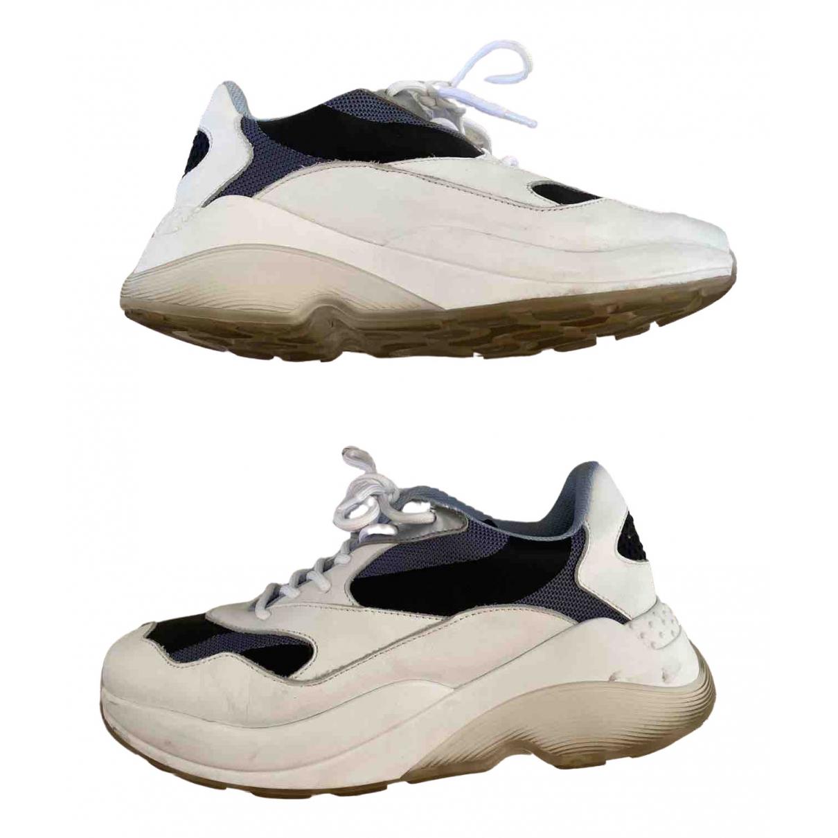 Axel Arigato \N Sneakers in  Blau Leder