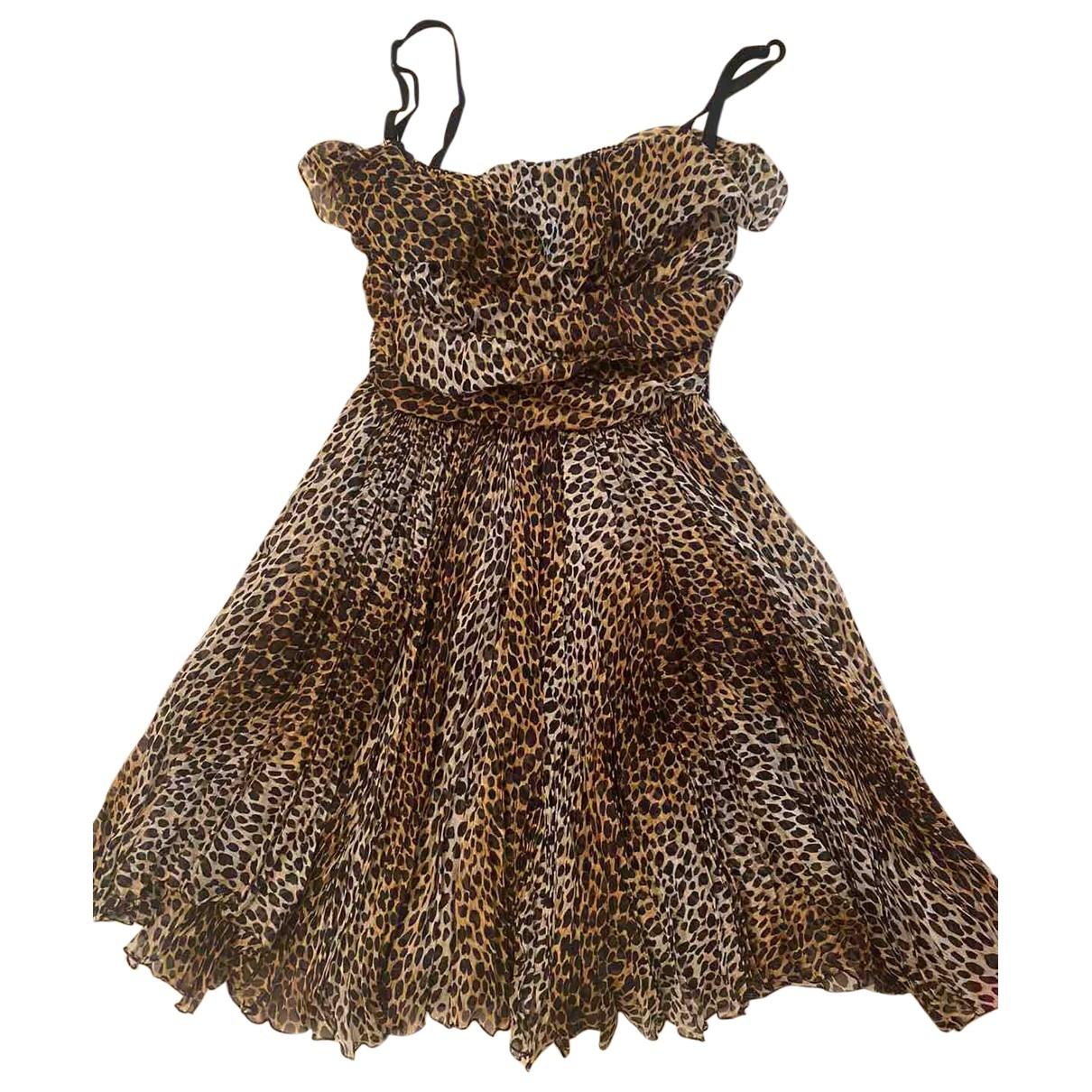 D&g \N Silk dress for Women 38 IT