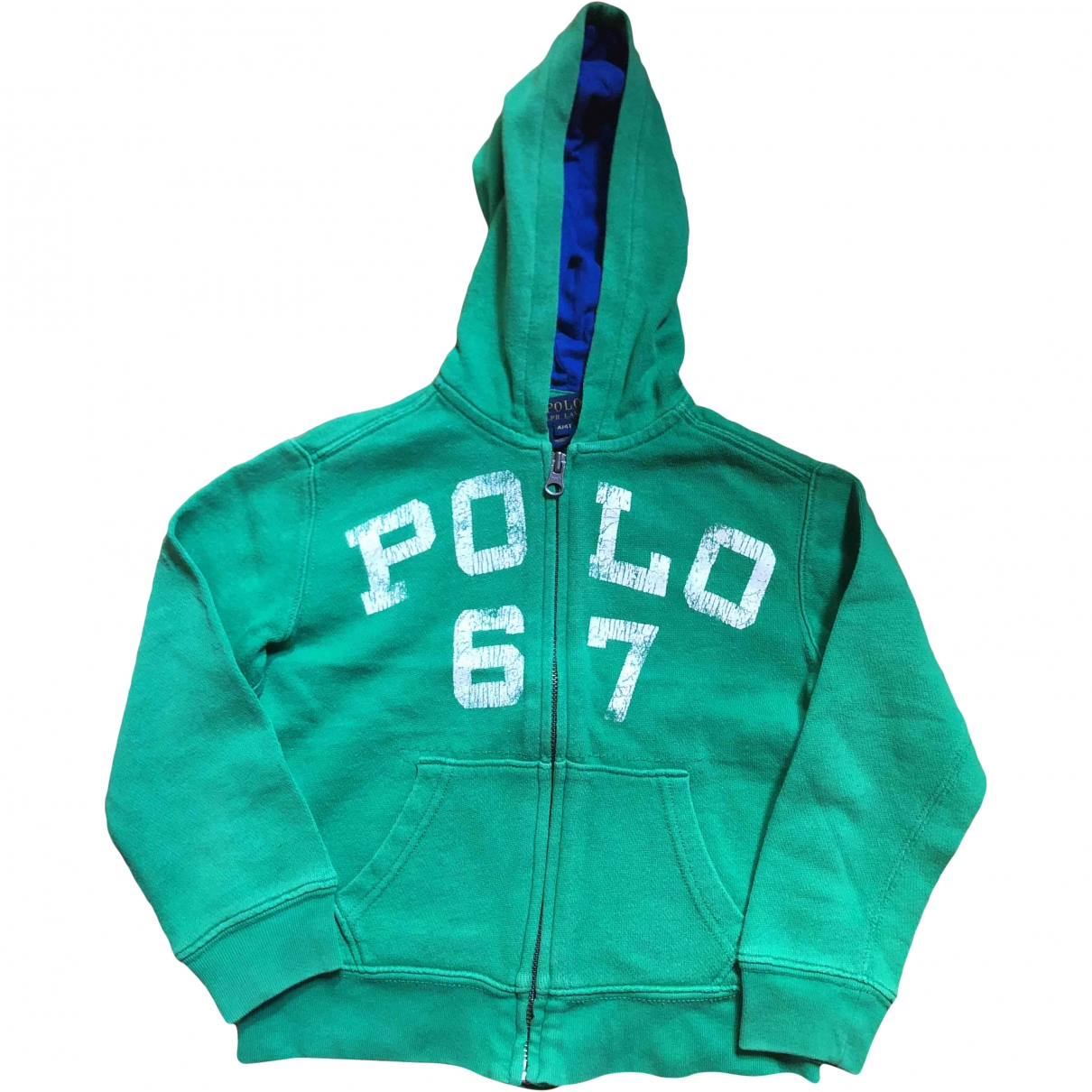 Polo Ralph Lauren \N Green Cotton Knitwear for Kids 4 years - up to 102cm FR