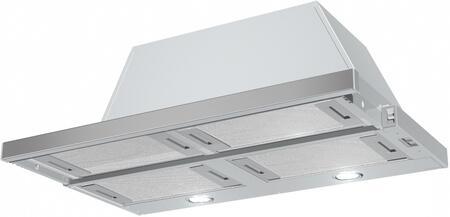 CRIS36SS600 Cristal Under Cabinet Range Hood with 4 Dishwasher Safe Mesh Filters  3 Speed Slider Control  2 Halogen Lighting  in Stainless