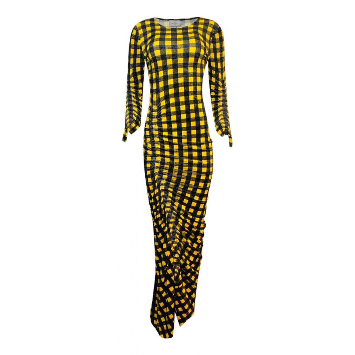 Preen By Thornton Bregazzi \N Kleid in  Bunt Polyester