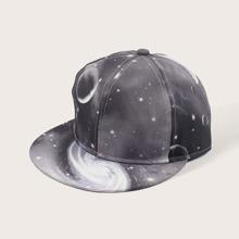 Baseball Kappe mit Planet Muster