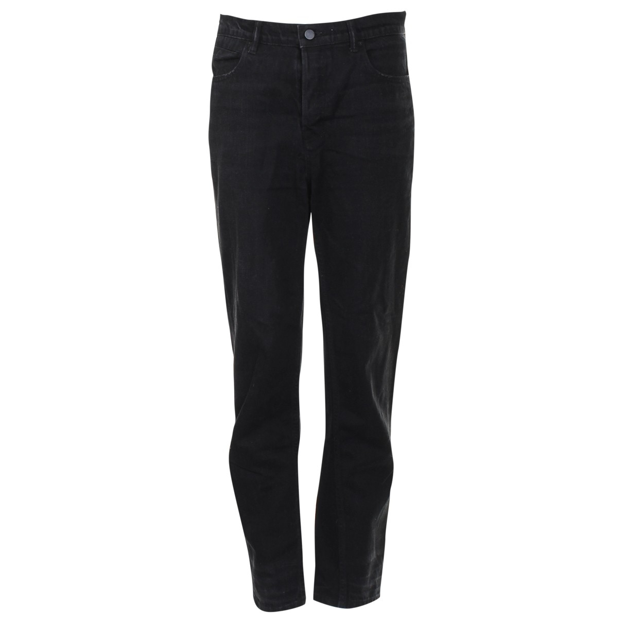 Alexander Wang \N Black Cloth Trousers for Women 42 FR