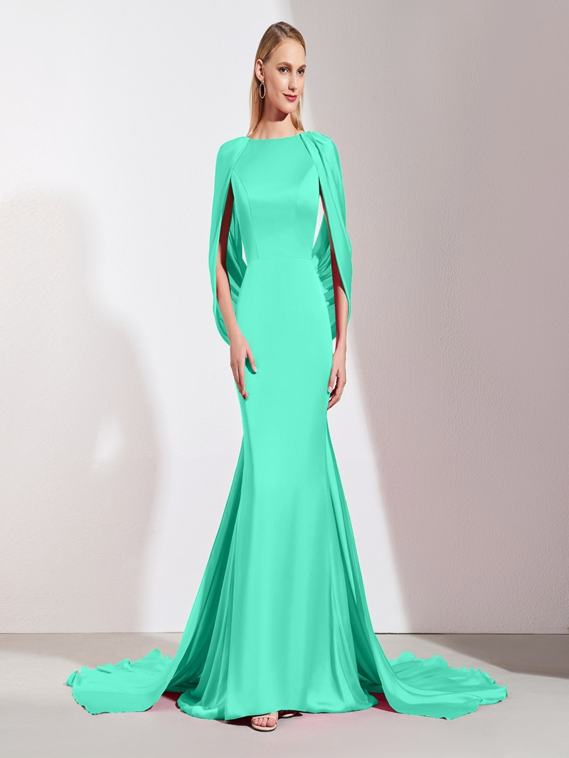 Ericdress Backless Mermaid Evening Dress