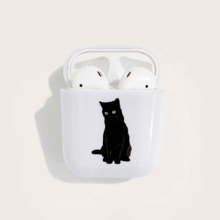 Cat Pattern Airpods Case