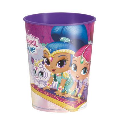 Shimmer and Shine 1 16 oz. Plastic Cup Pour la fête d'anniversaire