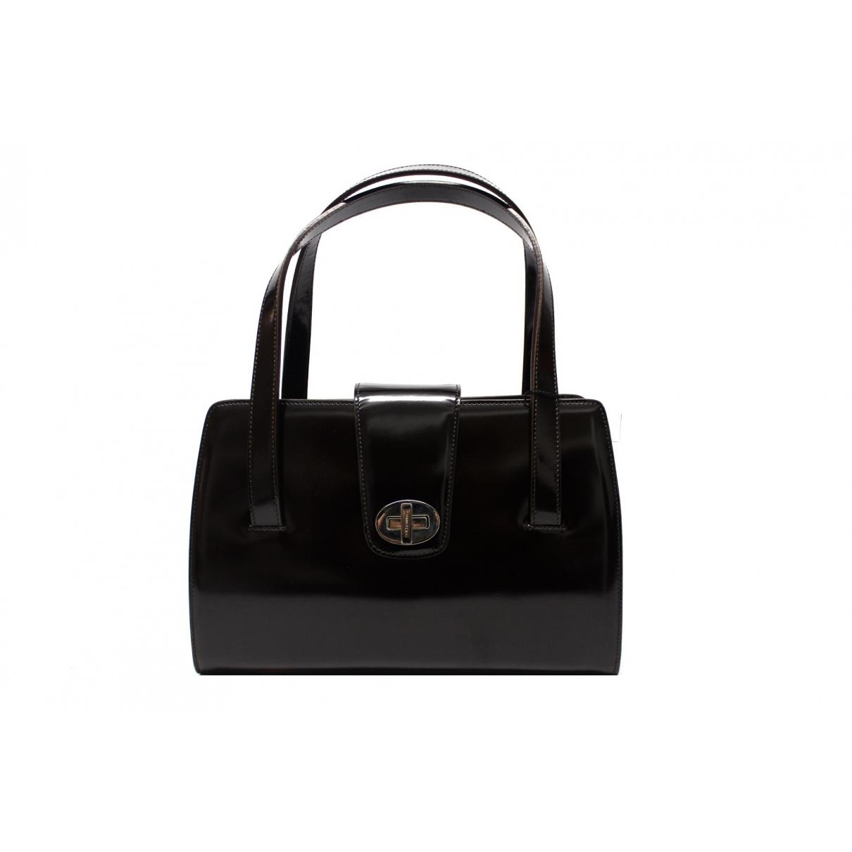 Dolce & Gabbana - Sac a main   pour femme en cuir verni - marron
