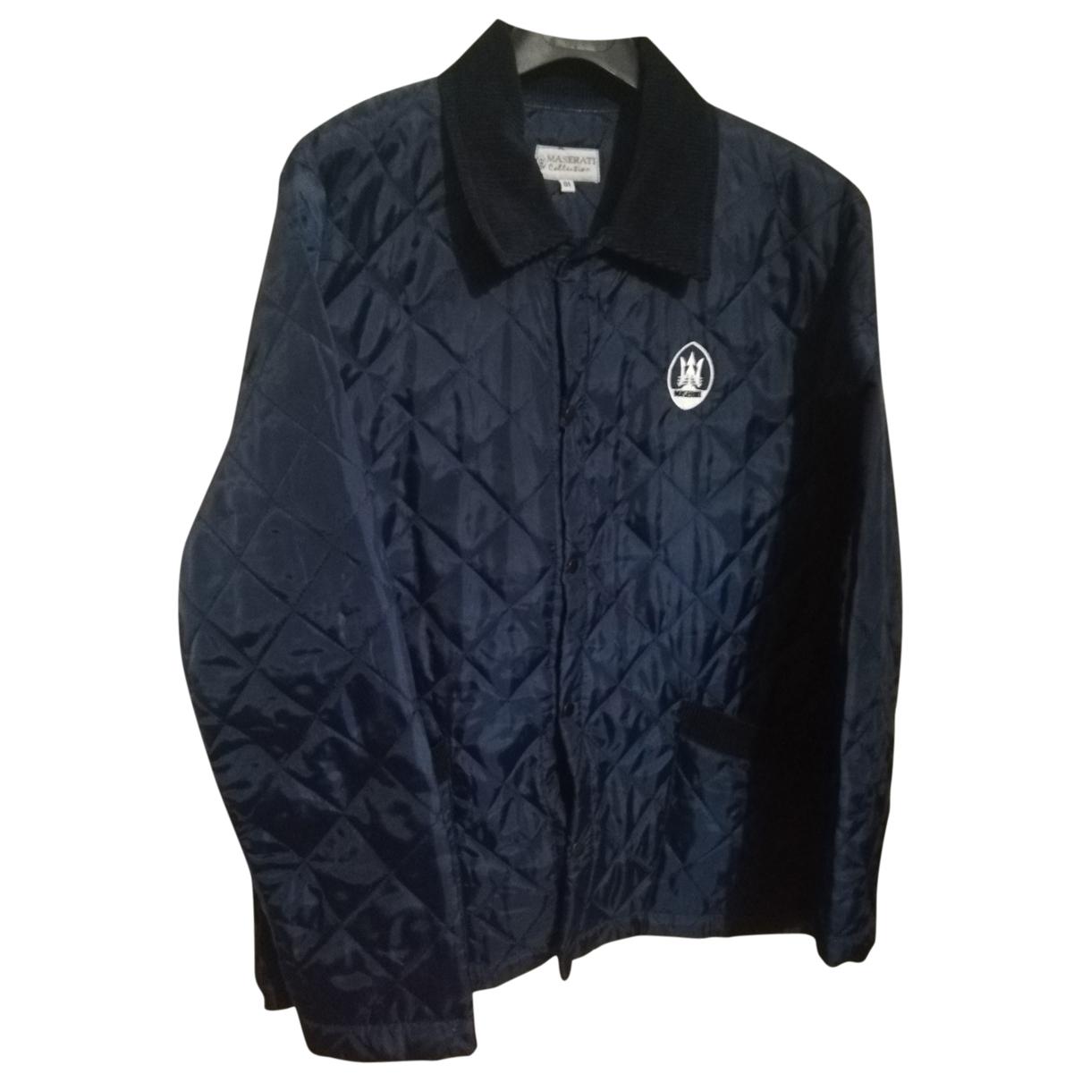 Non Signé / Unsigned \N Blue Cotton jacket  for Men 1 0 - 6