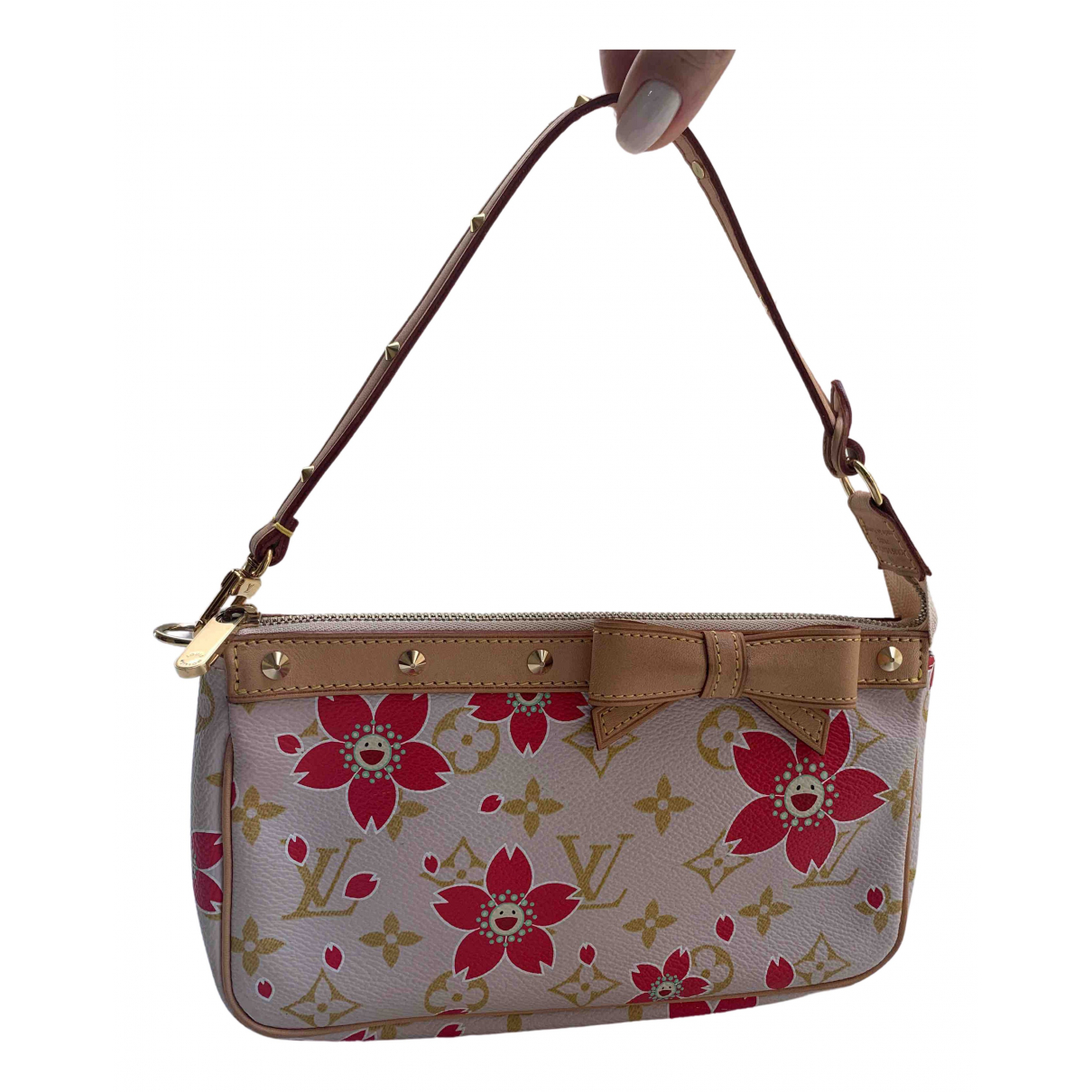 Louis Vuitton Pochette Accessoire Multicolour Cloth Clutch bag for Women N