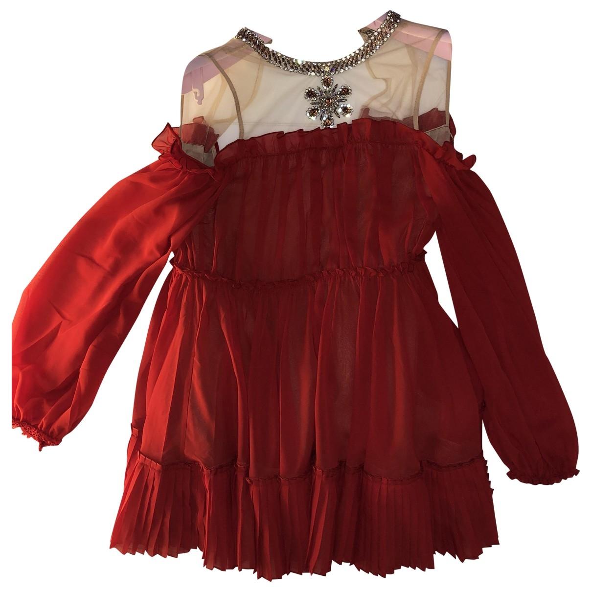 Giambattista Valli X H&m \N Red dress for Women XXS International