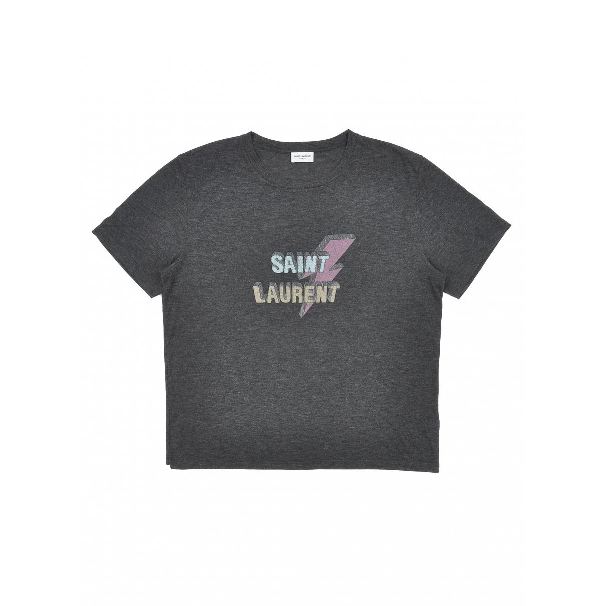 Saint Laurent - Top   pour femme - gris