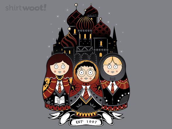 Kremlin School Of Wizardry T Shirt