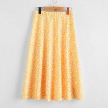 Girls Ditsy Floral Skirt