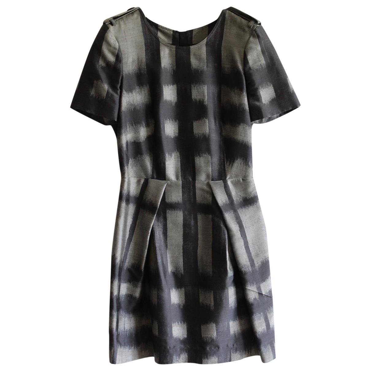 Burberry \N Kleid in  Schwarz Synthetik