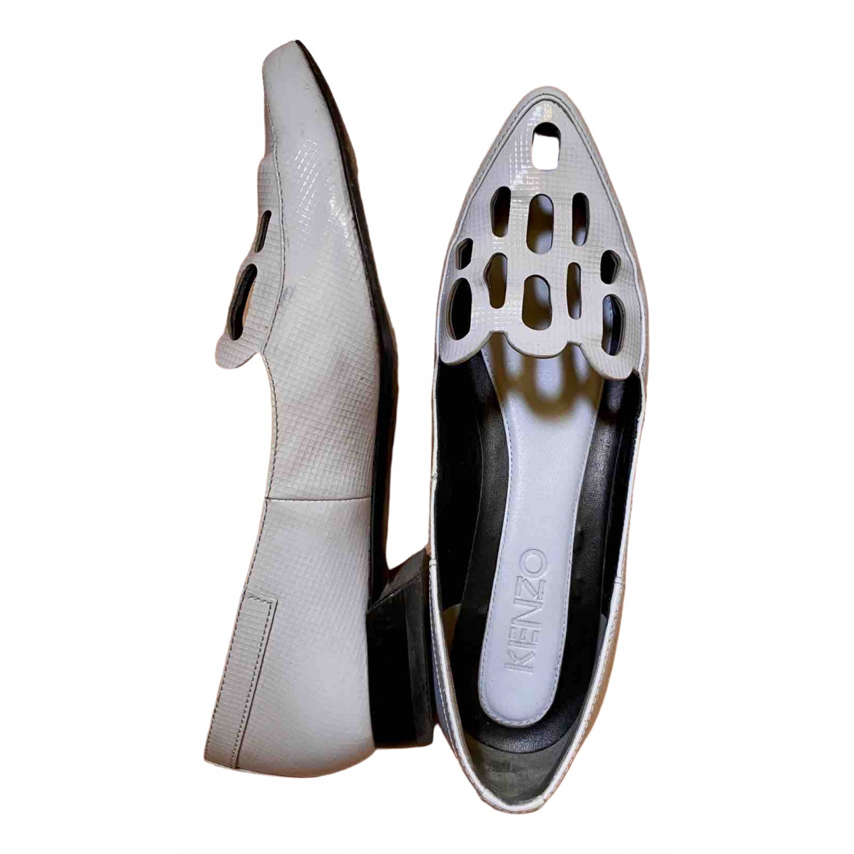 Kenzo \N Beige Leather Heels for Women 36 EU