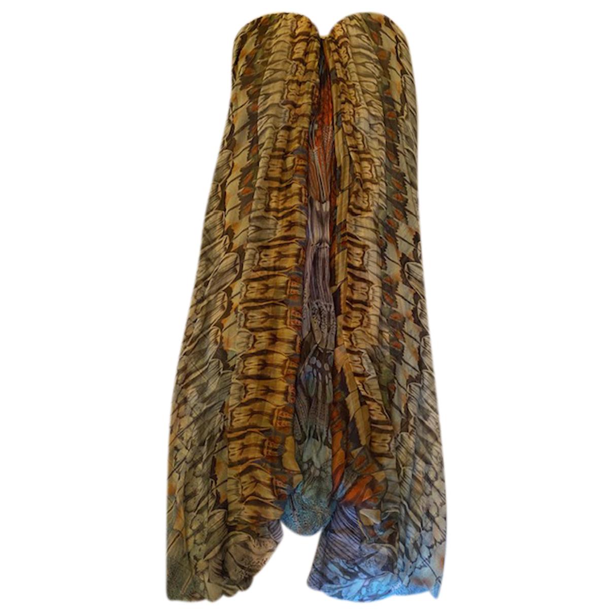 Alexander Mcqueen - Combinaison   pour femme en soie - multicolore