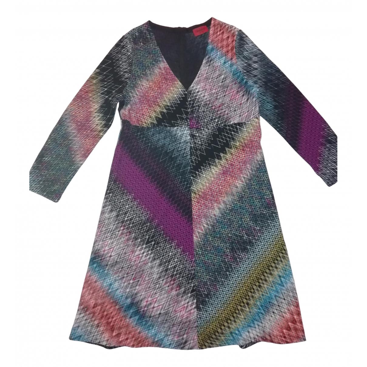 Missoni \N Kleid in  Bunt Wolle