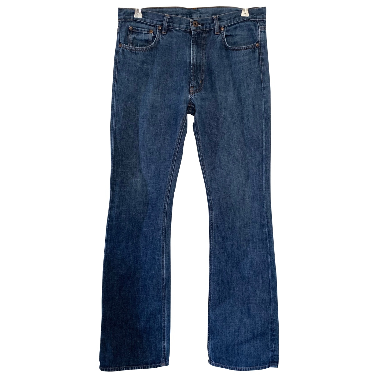 Miu Miu \N Blue Cotton - elasthane Jeans for Men 33 US