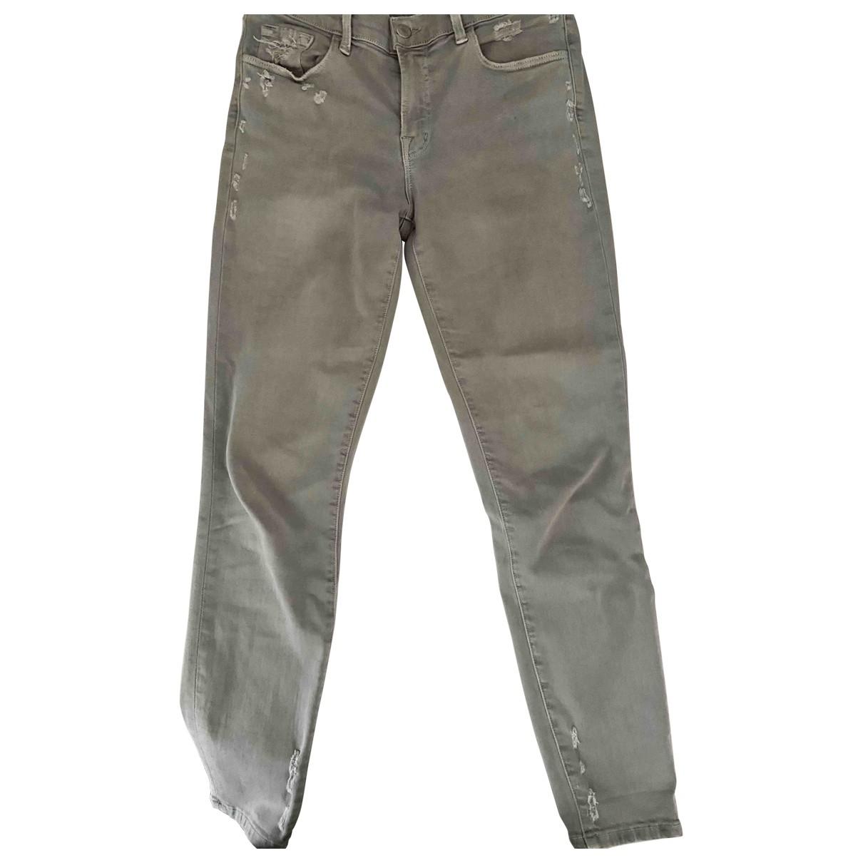 J Brand \N Grey Denim - Jeans Jeans for Women 27 US
