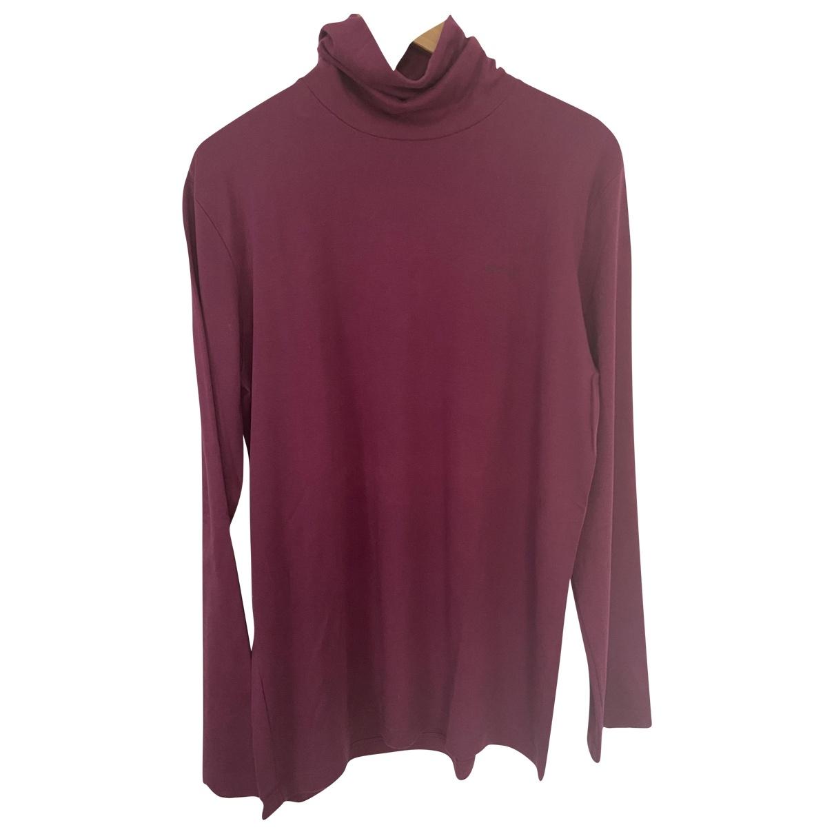 Etro \N T-Shirts in  Bordeauxrot Baumwolle