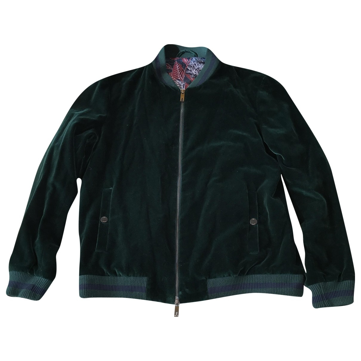 Ted Baker N Green Velvet jacket  for Men 40 UK - US