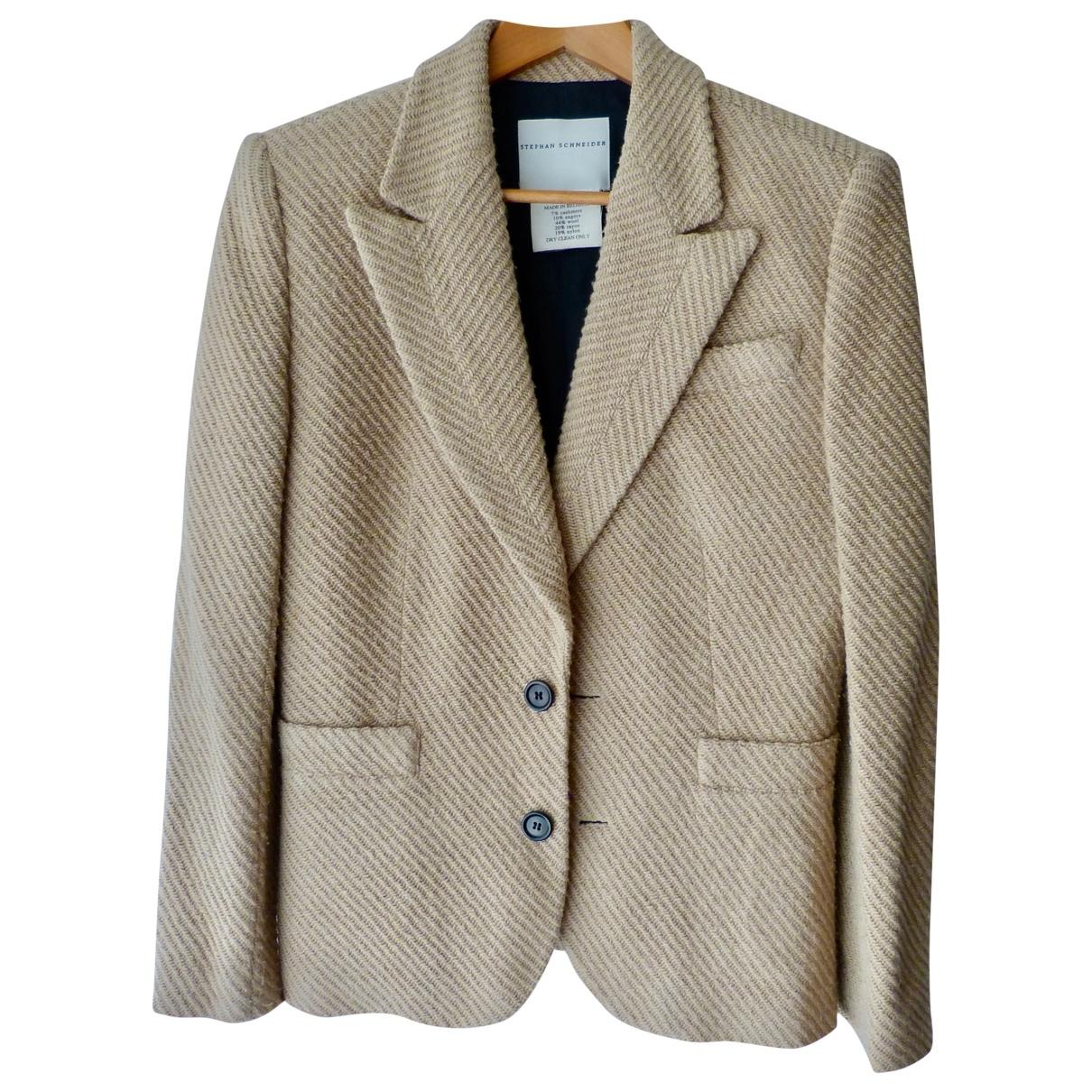 Stephan Schneider - Veste   pour femme en laine - beige