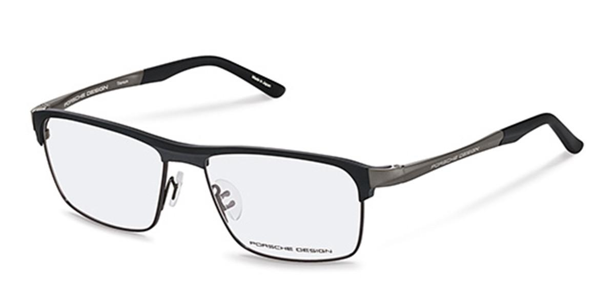 Porsche Design P8343 A Men's Glasses Black Size 57 - Free Lenses - HSA/FSA Insurance - Blue Light Block Available