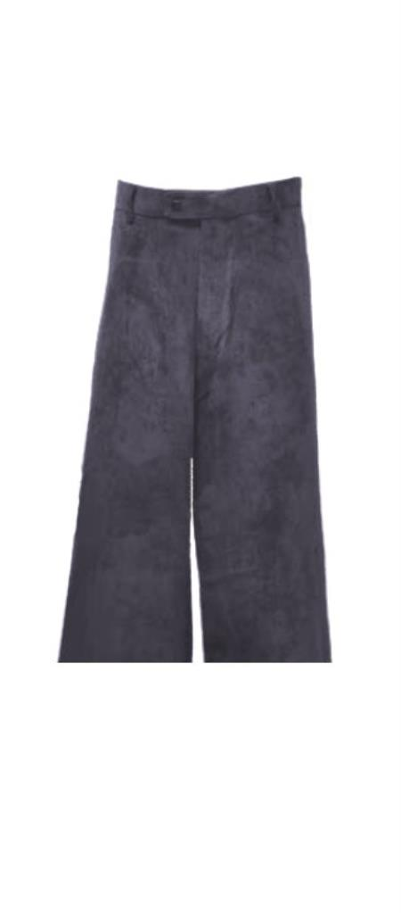 Corduroy Charcoal Pants Slacks For Men