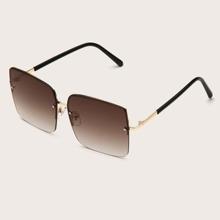 Guys Square Frame Sunglasses