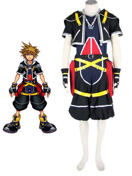 Milanoo Halloween Vestido de Sora de Kingdom Hearts
