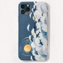 iPhone Etui mit Delphin Muster
