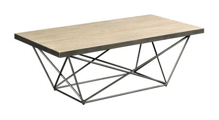 Rafters Collection 796-910 Rectangular Cocktail Table in Rustic Ash