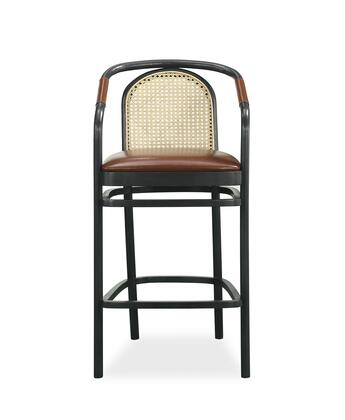 239208-2302CL Bobby Berk Moller Counter Chair in Light