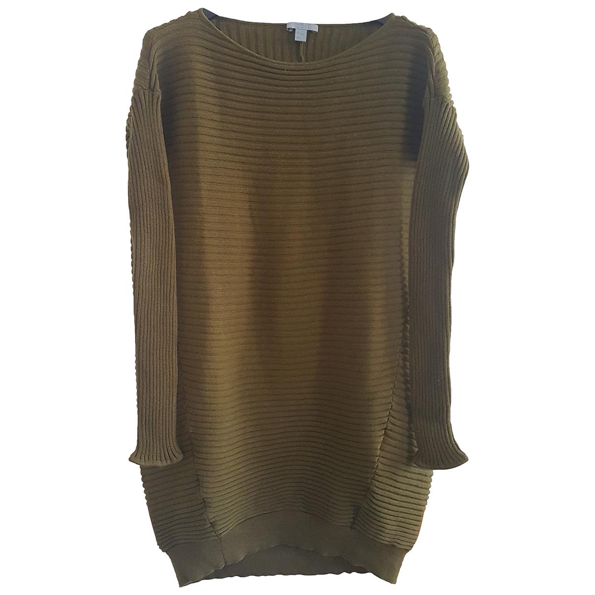 Cos - Pull   pour femme en laine - kaki