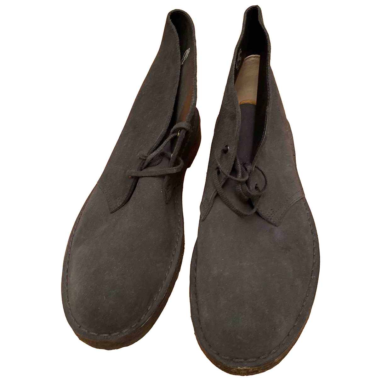 Clarks \N Blue Suede Boots for Men 46 EU