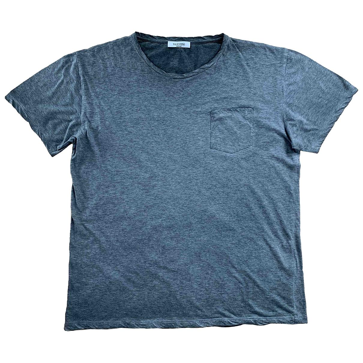 Valentino Garavani \N Khaki Cotton T-shirts for Men M International