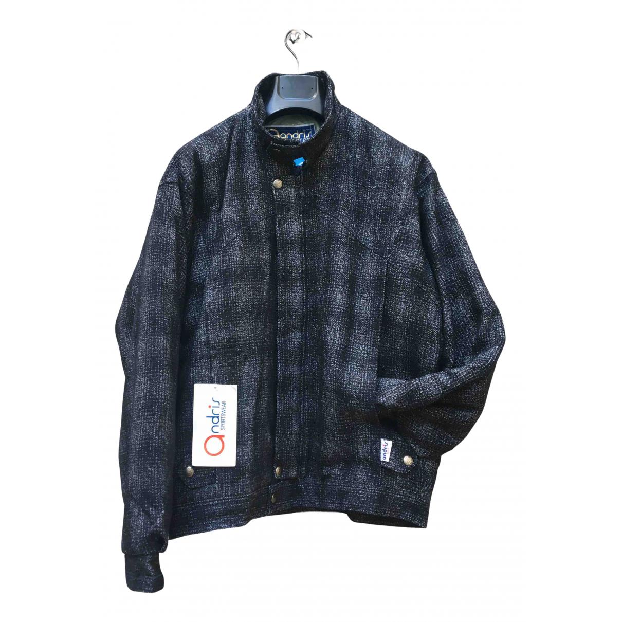 - Manteau   pour homme en laine - multicolore