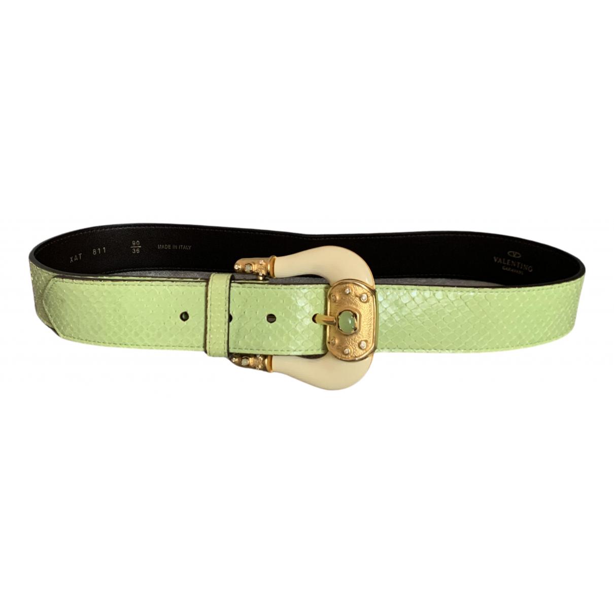 Cinturon de Piton Valentino Garavani