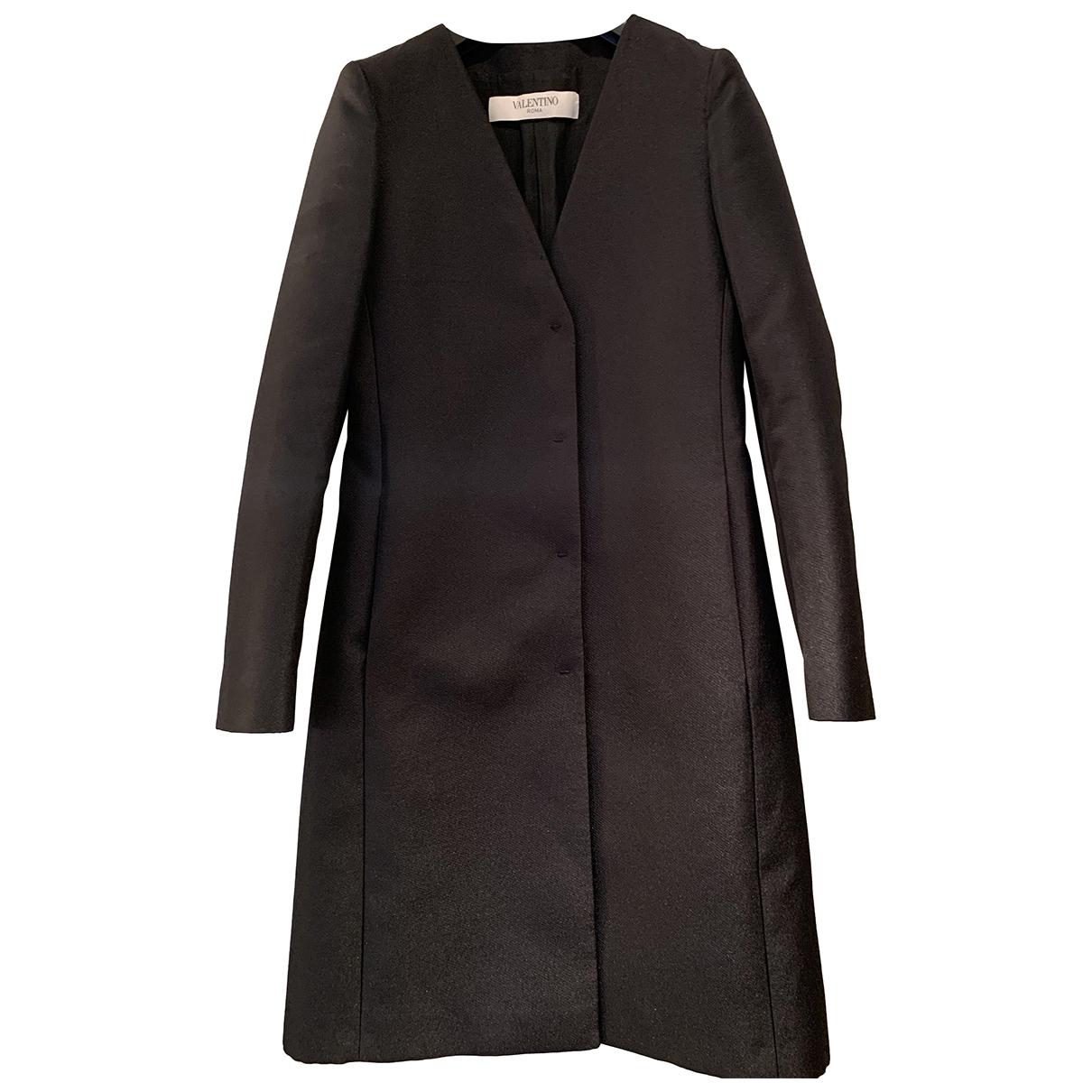 Valentino Garavani - Manteau   pour femme - noir