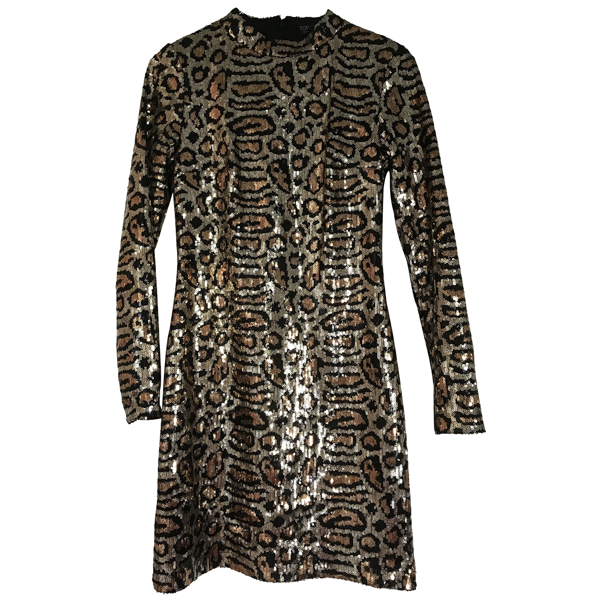 Tophop \N Kleid in  Metallic Mit Pailletten