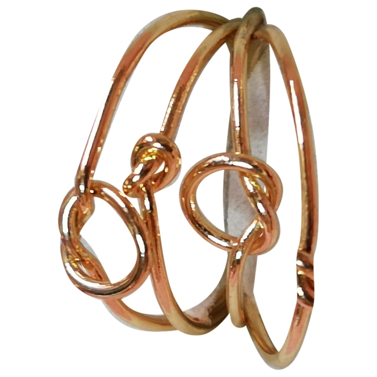 Non Signé / Unsigned \N Gold Metal Jewellery set for Women \N