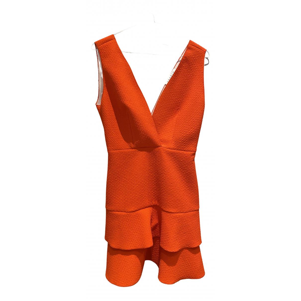 Sandro \N Kleid in  Rot Polyester