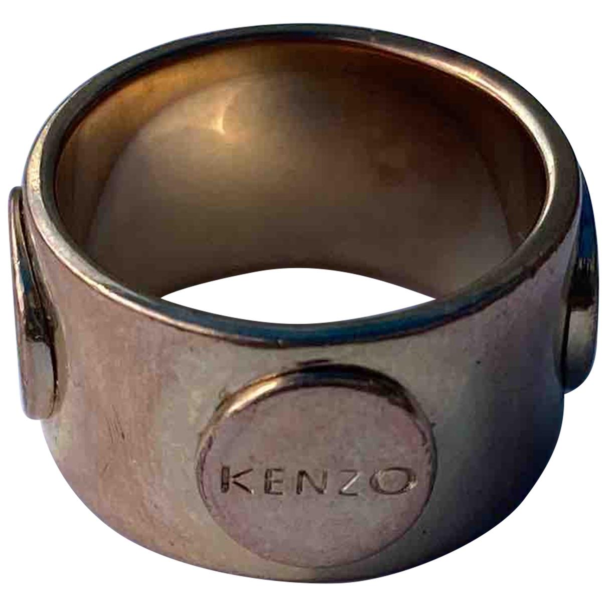 Kenzo - Bague   pour femme en metal - dore