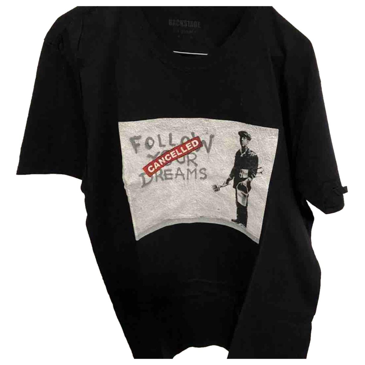 Banksy N Black Cotton T-shirts for Men XL International