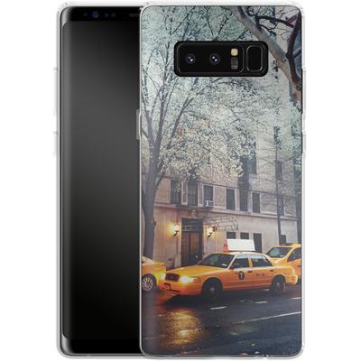 Samsung Galaxy Note 8 Silikon Handyhuelle - NYC Yellow Cabs von Omid Scheybani