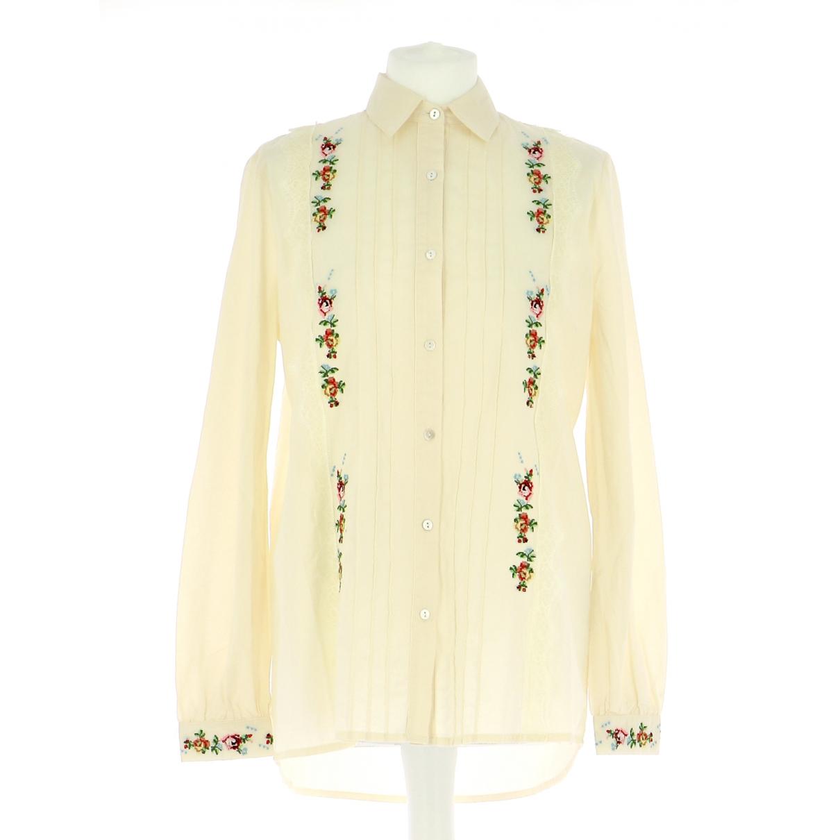 - Chemises   pour homme en coton - multicolore