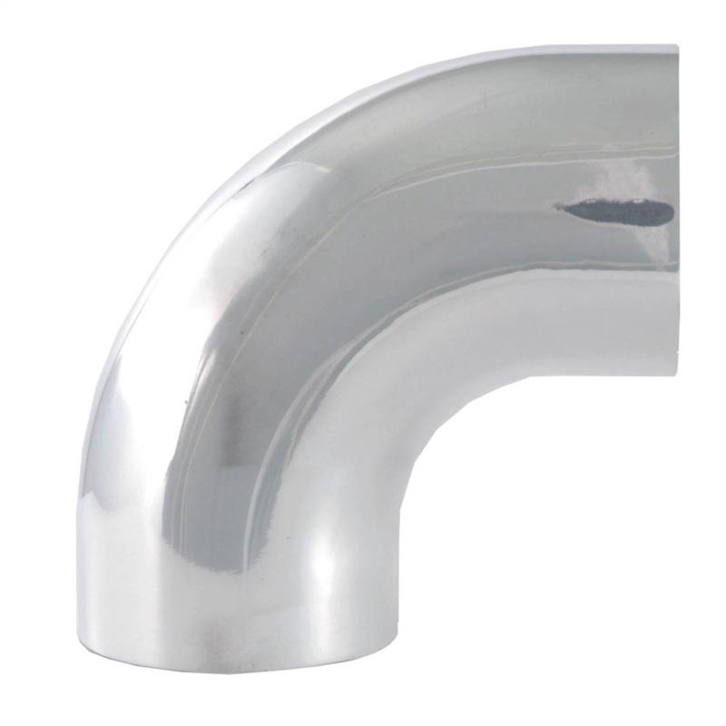 Spectre 9599 Universal Tube Elbow 3-1/2in. OD / 90 Degree Mandrel - Aluminum